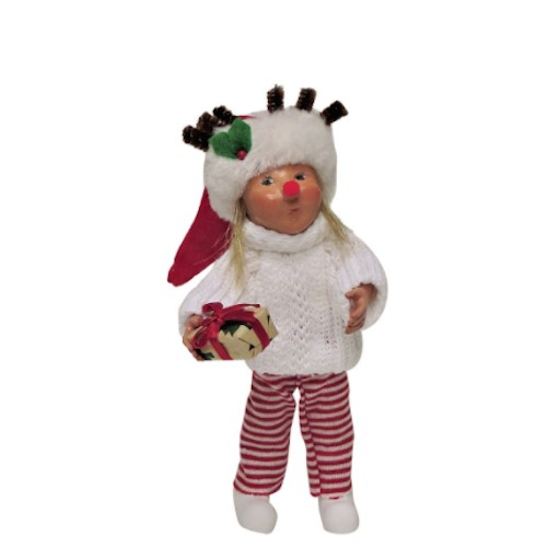 BYERS TODDLER GIRL WITH PACKAGE