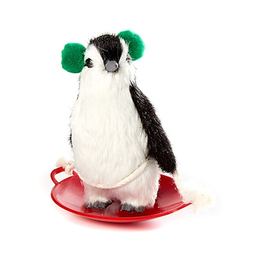 BYERS PENGUIN ON SNOW SAUCER