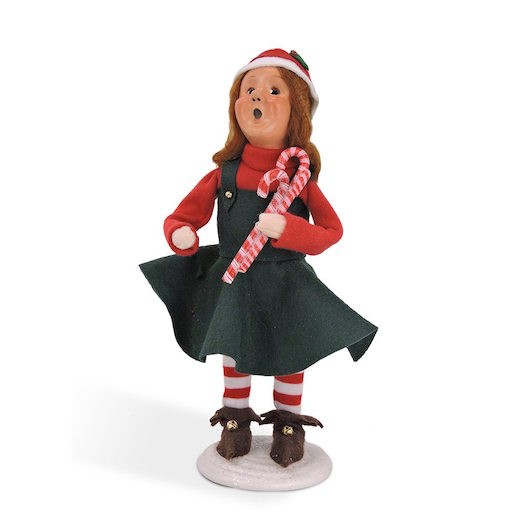 BYERS MITZI ELF WITH CANDY CANE
