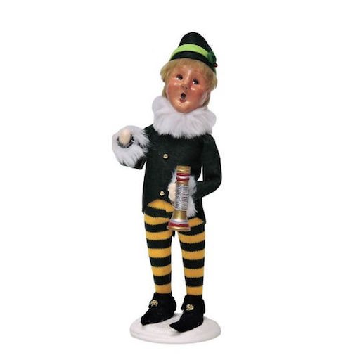BYERS FRANKIE ELF WITH HORN