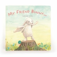 JELLYCAT INC MY FRIEND BUNNY BOOK