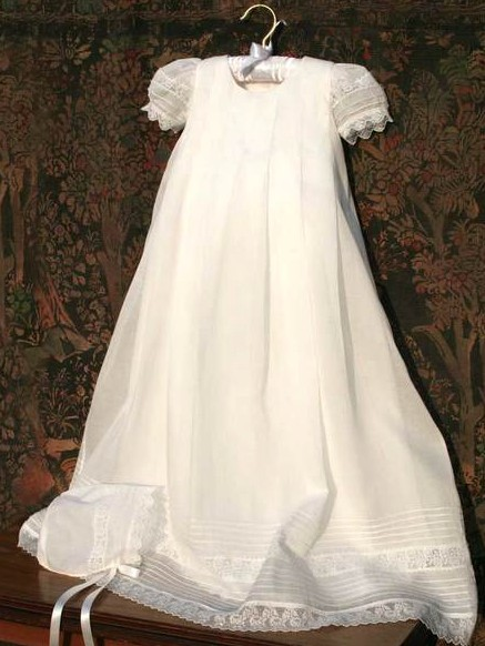 a3b86d165926 ISABEL GARRETON GRACIOUS CHRISTENING GOWN IN PLEATED ORGANDY WITH MATCHING  BONNET