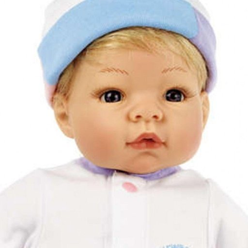 ALEXANDER DOLL COMPANY INC. LEE MIDDLETON MUNCHKIN BLUE EYES, BLONDE HAIR