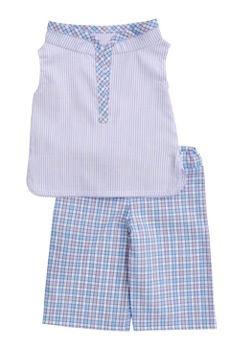 BLABLA BLA BLA GIRLS MANDARIN TUNIC & CAPRI PANTS