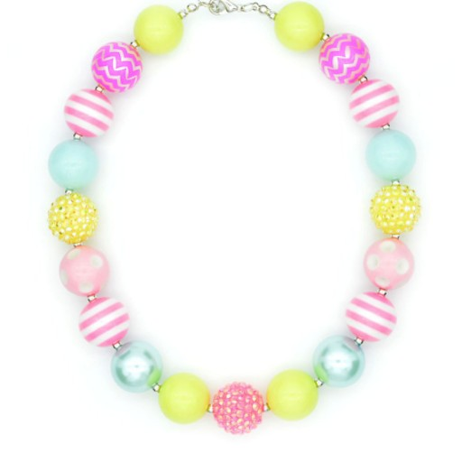 CREATIVE EDUCATION OF CANADA BUBBLEGUM BOBBLES NECKLACE