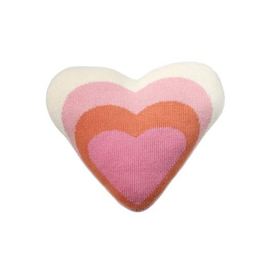 BLABLA BLA BLA HEART PILLOW