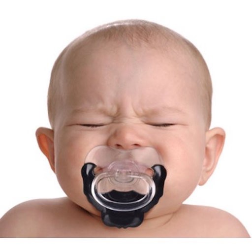 CHILL BABY GOATEE PACIFIER