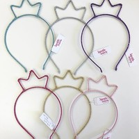 COUTURE CLIPS GLITTER CROWN HEADBAND