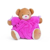 KALOO KALOO MEDIUM PLUME RASPBERRY BEAR