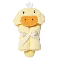 ELEGANT BABY YELLOW DUCKY BATH WRAP