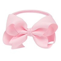 ELEGANT BABY MEDIUM BOW STRETCH HEADBAND
