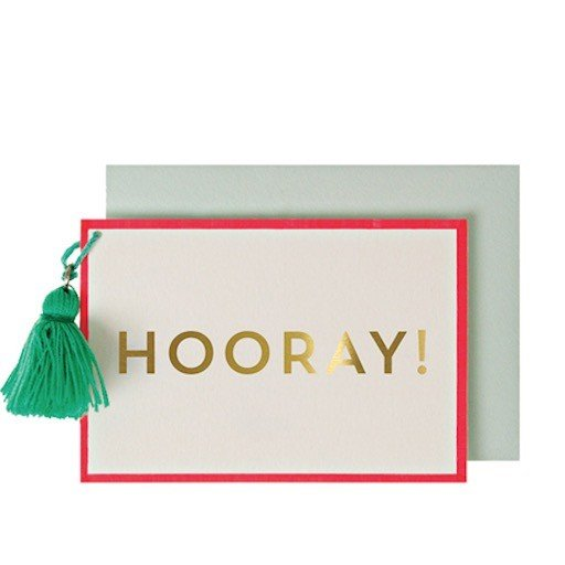 MERI MERI HOORAY GIFT ENCLOSURE