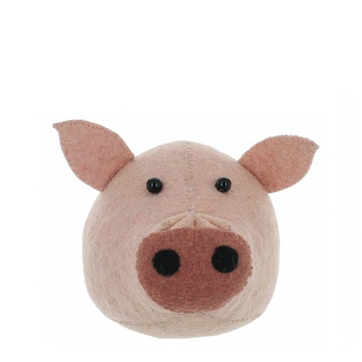 FIONA WALKER FIONA WALKER ENGLAND MINI PIG HEAD WALL MOUNT