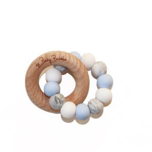 BABY BUBBLES SKY GAZING TEETHING RING