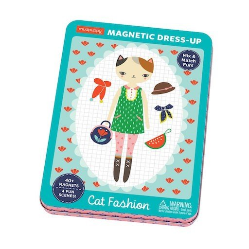 GALISON MUDPUPPY CAT FASHION MAGNETIC FIGURES