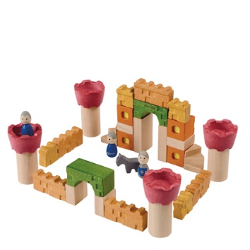 PLAN TOYS, INC. CASTLE BLOCKS