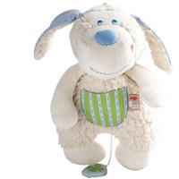 HABA PURE NATURE PUDGIE MUSICAL PUPPY