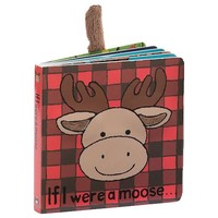 JELLYCAT INC IF I WERE A MOOSE BOARD BOOK