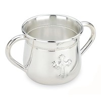 REED & BARTON DOUBLE-HANDLE BABY CUP