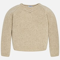 MAYORAL USA GOLD THREAD SWEATER