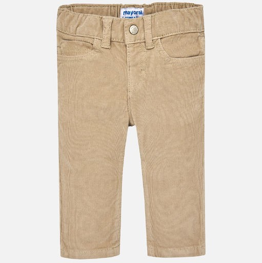 MAYORAL USA COURDUROY LONG PANTS, SLIM FIT