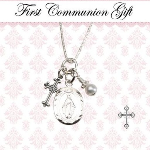 CHERISHED MOMENTS, LLC FIRST COMMUNION MIRACULOUS NECKLACE