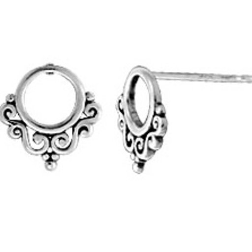 BOMA STERLING SILVER STUD EARRINGS
