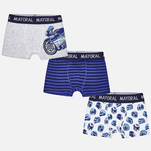 MAYORAL USA 3PK SET OF BOXERS