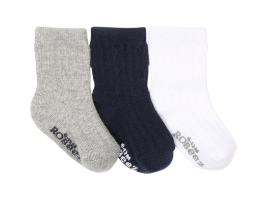 ROBEEZ BOYS BASICS 3PK SOCKS