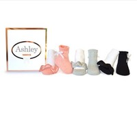 TRUMPETTE ASHLEY SOCKS, 6 PACK