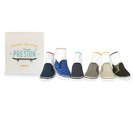 TRUMPETTE PRESTON SOCKS, 6 PACK