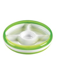 OXO OXO DIVIDED PLATE WITH REMOVEABLE RING