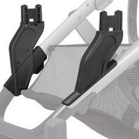 UPPABABY UPPABABY2017  LOWER VISTA ADAPTER-DOUBLE CONFIGURATION