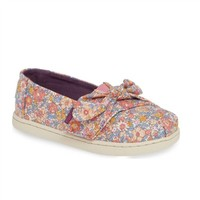 TOMS SHOES PINK MULTI LIBERTY AMELIE TOMS CLASSICS