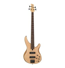 Yamaha - TRBX 604, 4 String Bass, Natural Satin, Flame Maple Top
