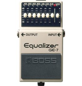 Boss - GE-7 7 Band EQ Pedal