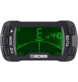Boss - TU-03 Chromatic Clip-on Tuner & Metronome