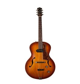 Godin - 5th Avenue Kingpin Arch Top Acoustic w/P90 Pickup, Cognac Burst