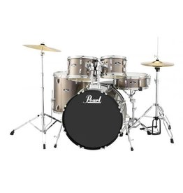 Pearl - Roadshow Series Drum Set, Bronze Metallic, w/Hardware and Cymbals