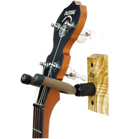 String Swing - Hardwood Home & Studio Banjo Hanger, Oak