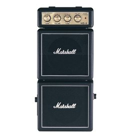 Marshall - MS-4 1W Battery-Powered Micro Stack, Black