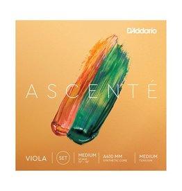 D'Addario - Ascente Viola Strings, Medium Tension, 4/4