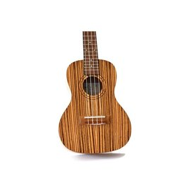 Twisted Wood - BA-003C-B Bailer Ukulele w/Pickup, Concert, w/Bag
