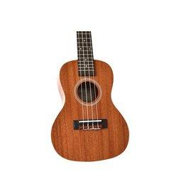 Twisted Wood - PI-100C Pioneer Series Ukulele, Concert, w/Bag