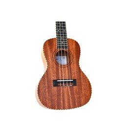 Twisted Wood - TO-100C Original Series Ukulele, Concert, w/Bag