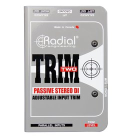 Radial - Trim-Two Stereo Passive A/V DI