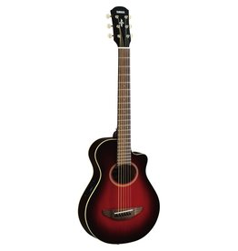 Yamaha - APXT2 Travel Guitar, w/Pickup & Gigbag, Dark Red Burst