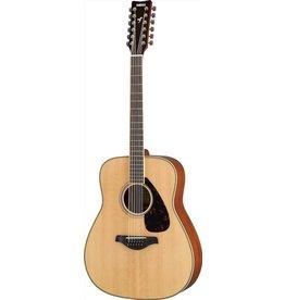 Yamaha - FG820 Dreadnought 12 String Acoustic, Natural