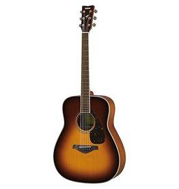 Yamaha - FG820 Dreadnought Acoustic, Brown Sunburst