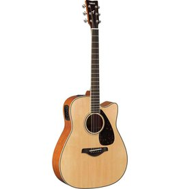 Yamaha - FSX820SC Dreadnought Acoustic, Natural